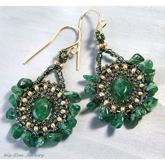 Best 25+ Emerald green earrings ideas on Pinterest