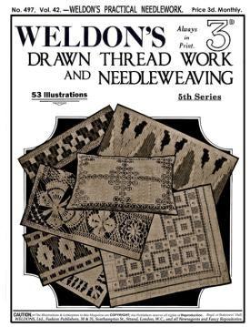 Drawn Thread Work and Needleweaving