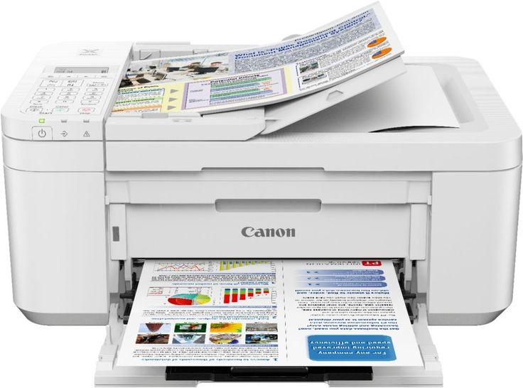 Canon PIXMA TR4520 Wireless AllInOne Printer White