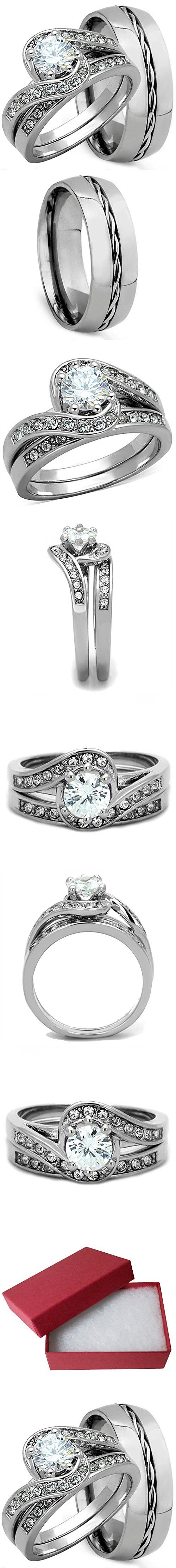 Best 25 Titanium engagement rings ideas on Pinterest