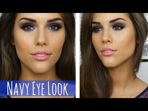 BLUE SMOKEY EYE MAKEUP TUTORIAL   Prom, Party, Clubbing or Special Event Makeup - YouTube
