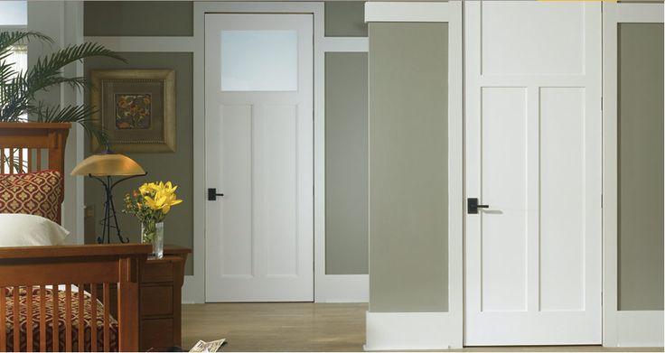Craftsman Shaker Interior Doors Beautiful Interior Doors Pinterest Craftsman Interior