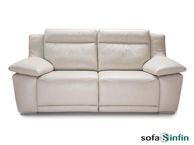 Sofá relax de 3 y 2 plazas modelo Lucy fabricado por Losbu en Sofassinfin.es
