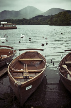 wowPhotos, Lakes District England, Mountain, Mornings Exercise, Wooden Boats, Children, Sea, Sailing Away, Canoes
