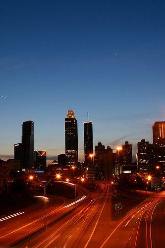 Downtown Atlanta Skyline Glenn Hotel Autograph