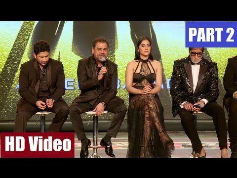 AANKHEN 2 Movie Launch Full Uncut Event - 2 | Amitabh Bachchan. Arshad Warsi.