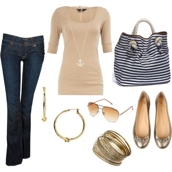 cute: Nautical Style, Hot Outfits, Anchors, Casual Looks, Casual Outfits, Nautical Theme, Necklace, Bags, Sailors Style