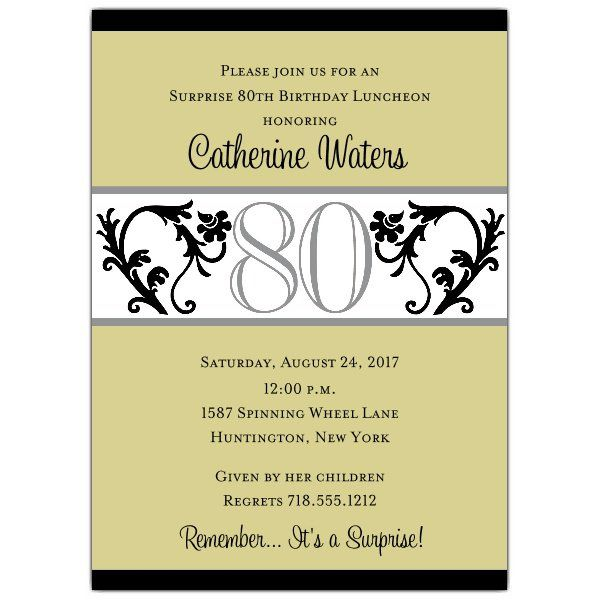 Quotes For 80th Birthday Invitation Moms 70th Pinterest 90th Invitations And