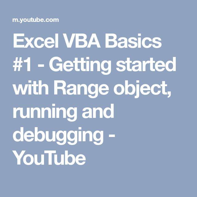 Best 25+ Vba excel ideas on Pinterest Linguagem de programação - vba programmer sample resume