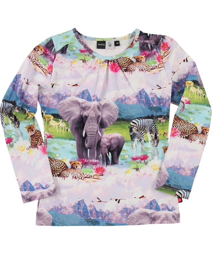Molo Wonderful Beach Safari Printed T-shirt. molo.en.emilea.be