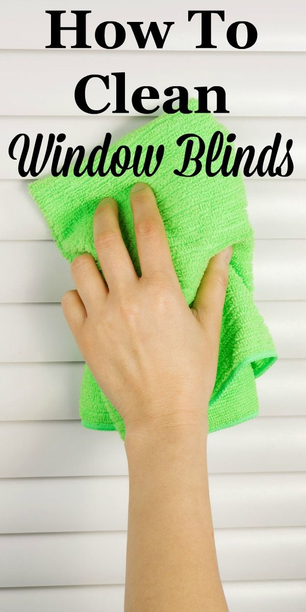 Here are simple instructions for how to clean window blinds, focusing mainly on vinyl and metal mini-blinds. #ad