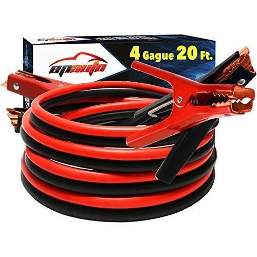 Car Cables Booster Jumper Batteries Safety Gloves Travel Bag Motorcycles Trucks #EPAuto