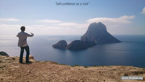 Ritsuzen, Standing Zen at Es Vedra Ibiza part of the Natural Tuning retreats in April 2015 www.thefeel.org