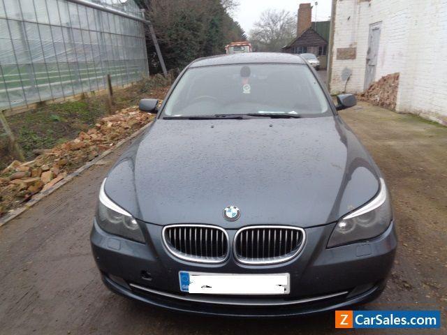 2008 BMW 5 SERIES DIESEL SALOON 525D SE 4DR STEP 6 SPEED AUTO #bmw #525d #forsale #unitedkingdom