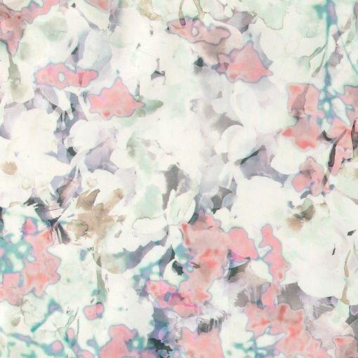Percale akvarellfärger abstrakt blomma