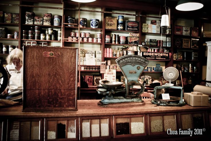 Old General Store Interior old general store interior old-fashioned ...