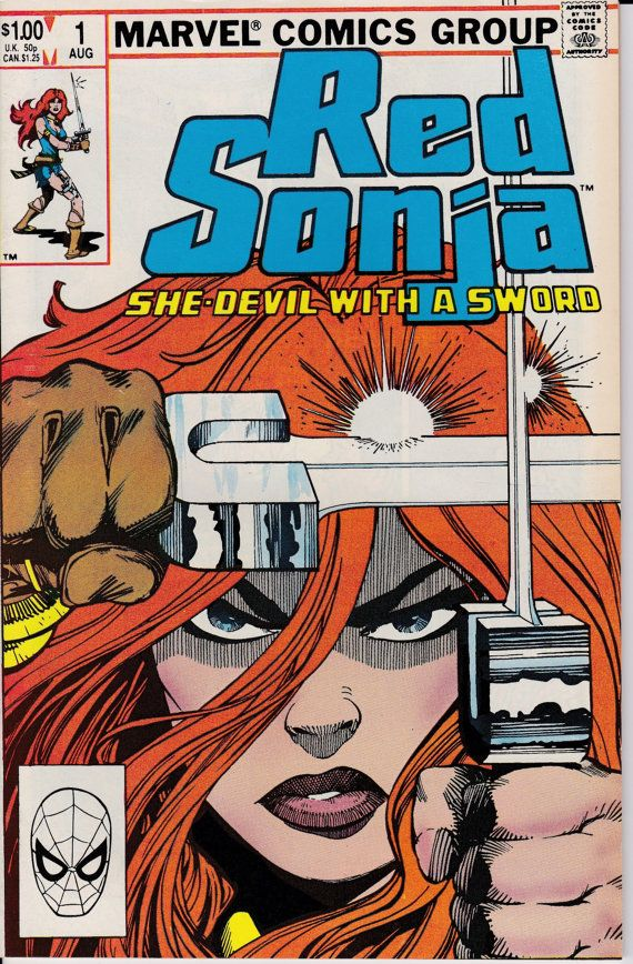 Red Sonja 1983 3rd Marvel Series 1 August 1983 by ViewObscura, $6.00