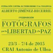 IV Exposición de Fotógrafos por la Libertad y la Paz en CRAI Antonio de Ulloa   Del 23 de marzo al 7 de abril de 2015    https://bib.us.es/ulloa/noticias/iv-exposici%C3%B3n-de-fot%C3%B3grafos-por-la-libertad-y-la-paz-en-crai-antonio-de-ulloa  Además se celebró la V Exposición de Fotógrafos por la Libertad y la Paz entre el 4 y el 18 de abril de 2016: https://bib.us.es/ulloa/noticias/v-exposici%C3%B3n-de-fot%C3%B3grafos-por-la-libertad-y-la-paz