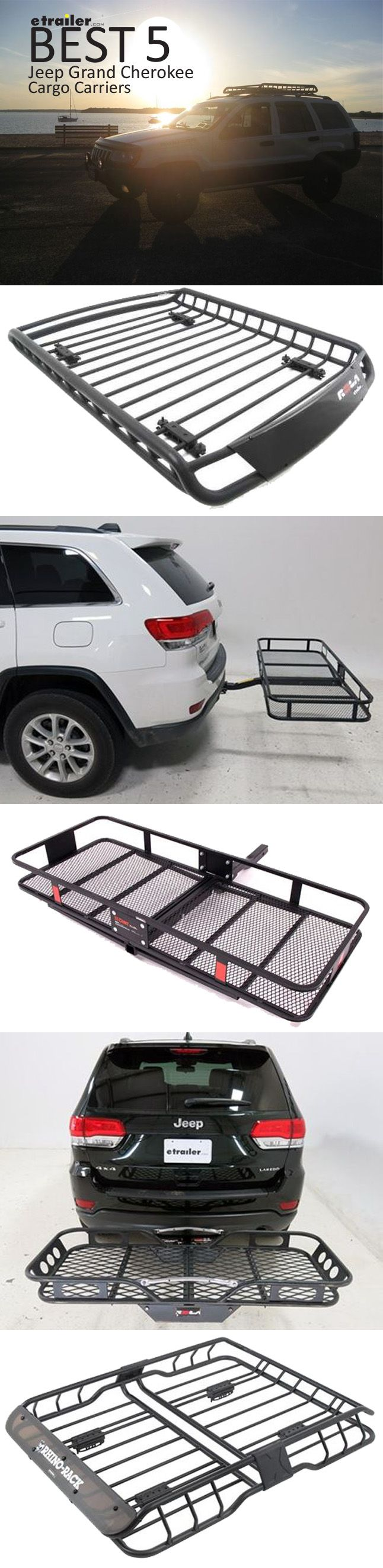 Here are the best cargo carriers for your jeep grand cherokee find the right roof mounted cargo basket or hitch mounted cargo carrier so you can carry all