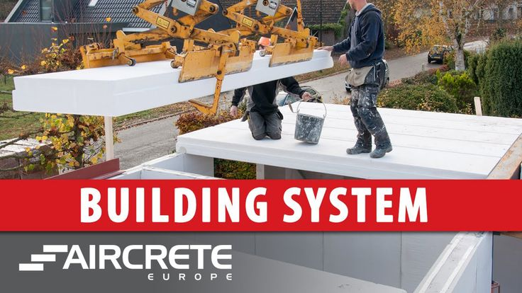(adsbygoogle = window.adsbygoogle || []).push();            (adsbygoogle = window.adsbygoogle || []).push();  A building crew of four people is building a single family house in two days with Autoclaved Aerated Concrete (AAC) panels. This building, being constructed in the...