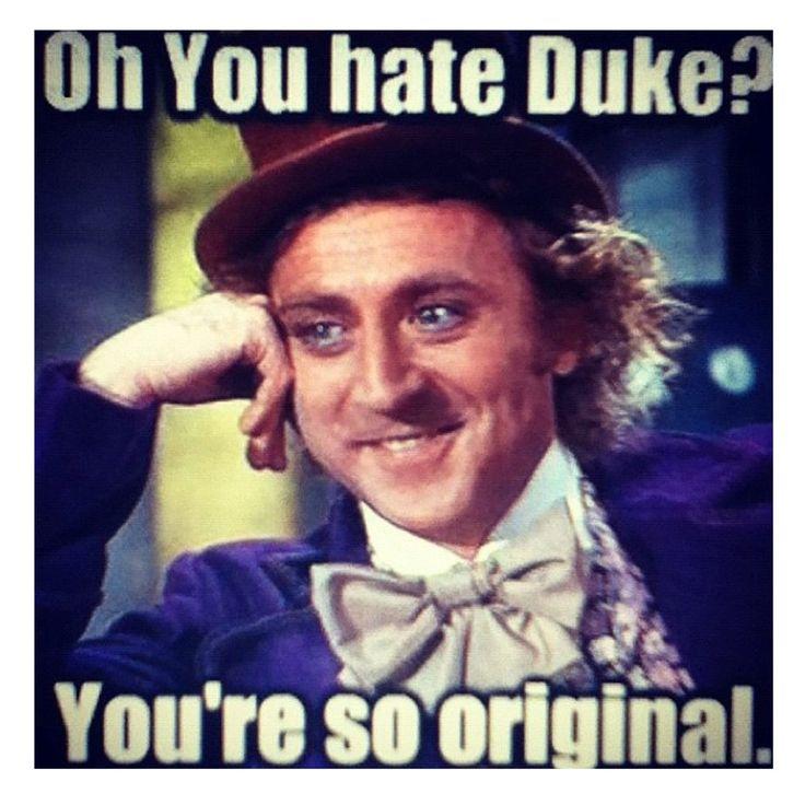 Haters going to hate especially on Duke!! Duke Basketball