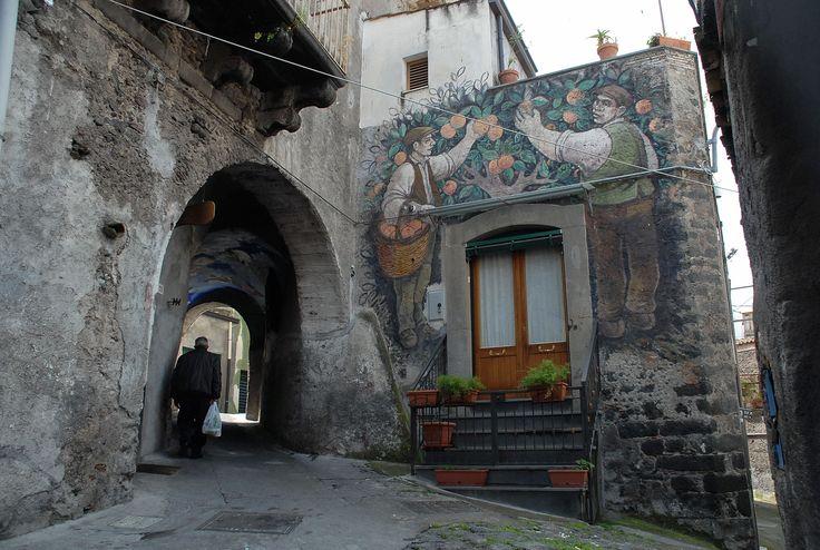 Bronte nel CT - Catoio di Via Imbriani - #italy #sicily #museietnei visit www.museietnei.it