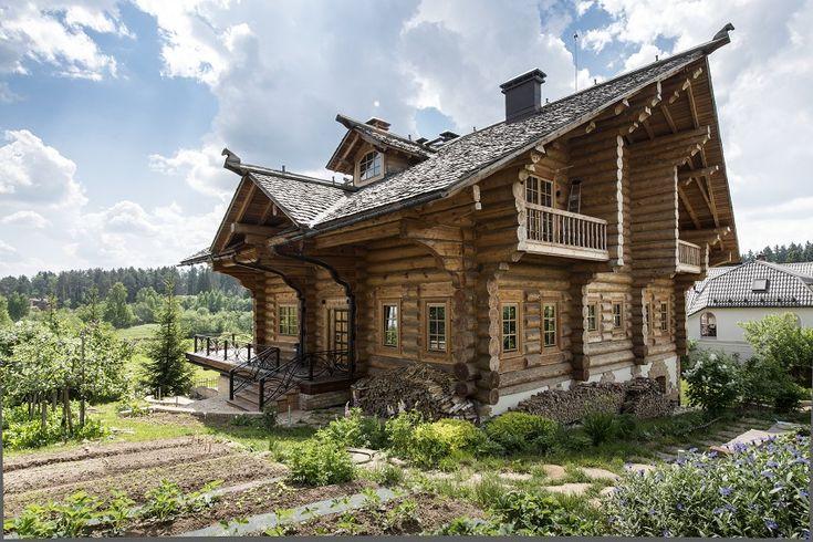 Деревянный дом из бревна 4