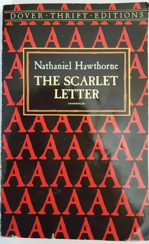 literary analysis of the novel the scarlet letter The scarlet letter tells a single but very moving story in which four people living  hawthorne is a master of symbolism, which he took from the puritan tradition.