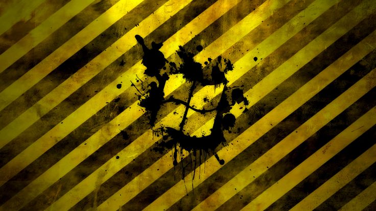 yellow caution window - http://1080wallpaper.net/yellow-caution-window.html