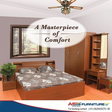 The ASIS Antique king size bed is a masterpiece of comfort, that makes the users feel like they are in heaven.   Shop at : http://bit.ly/1NnENvC