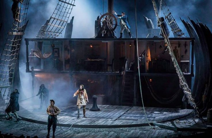 Treasure Island. National Theatre. Scenic design by Lizzie Clachan.