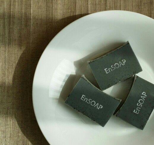 charcoal gray soap