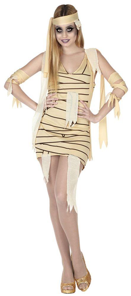 Disfraz de momia sexy para mujer para Halloween