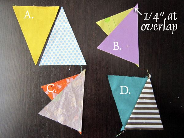 6 - piecing Triangles!!