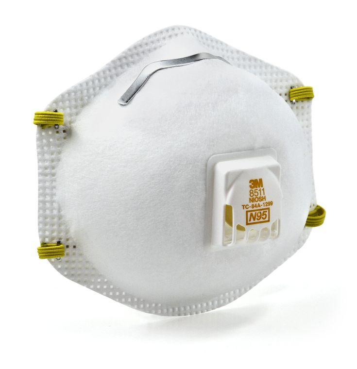 3m 8511hb1cps sanding and fiberglass valved respirator