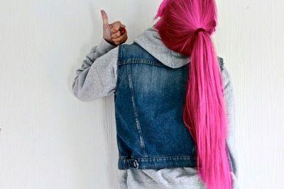 Um cabelo pras garotas que amam o PINK