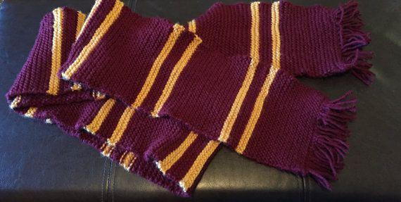 Harry Potter Gryffindor Hogwarts-Haus-Schal von CaptNemoAE auf Etsy