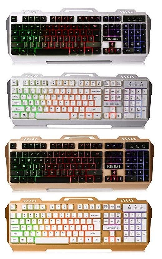 48c263e2e5c BEST Light Up Wired Color LED Backlit Gaming Keyboard Mechanical Usb PC  Laptop #LumsBurry