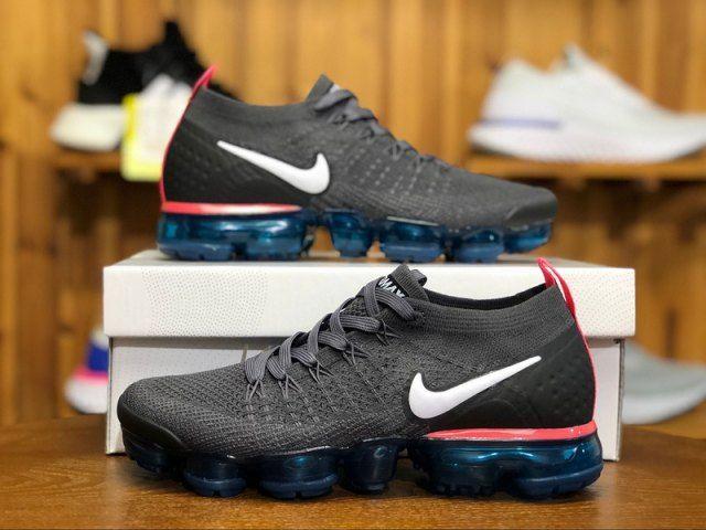 Royal blue sneakers, Nike air vapormax