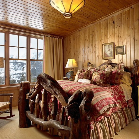 Big sky house kahn design group rustic home decor for Montana rustic accents