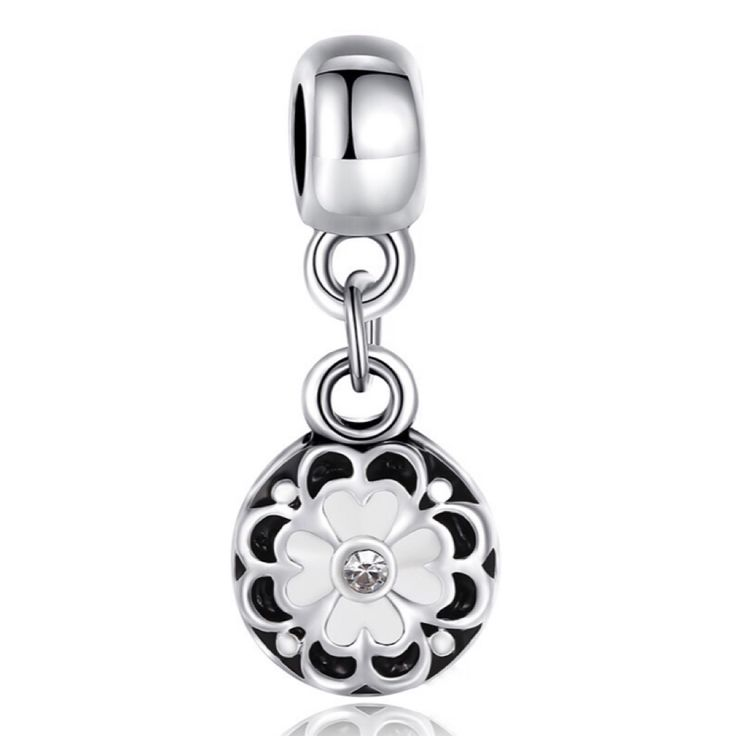 Check out Silver flower dangle charm  for $9.00. Get it on Shopee now! http://shopee.sg/les.fashionista/136895127 #ShopeeSG