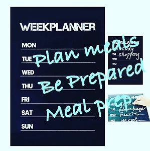Slimming World Weight Loss Watchers Diet Food Chalk BlackBoard Meal Wall Planner | eBay