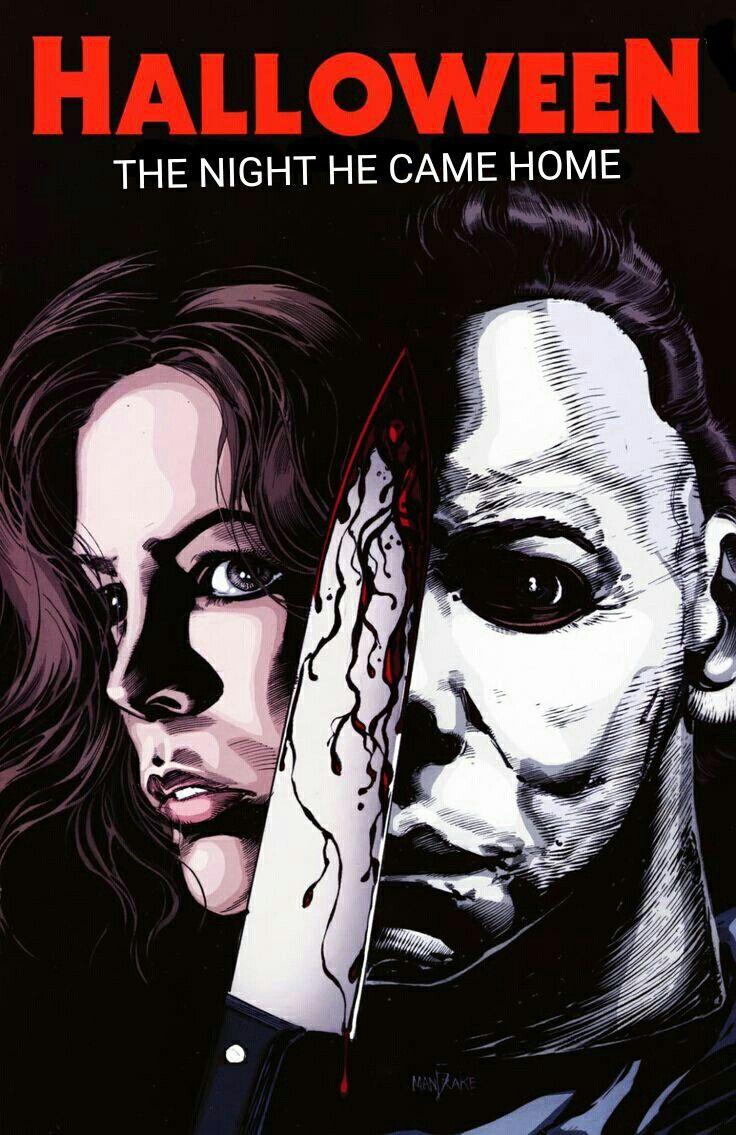 Halloween Movie poster horror Slasher