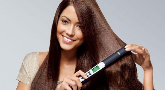 Plancha tu cabello como profesional