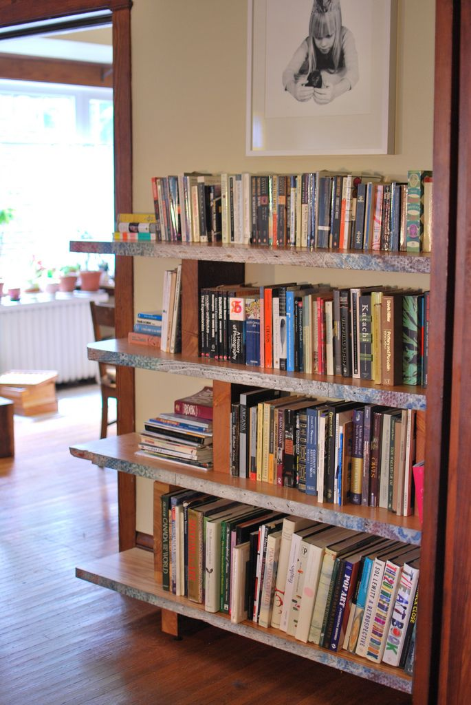 Do it yourself bookshelf to fill that empty wall home for Easy diy shelves