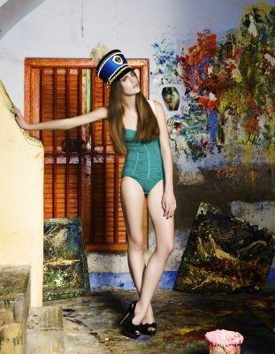Inge de Lange, fashion stylist, india