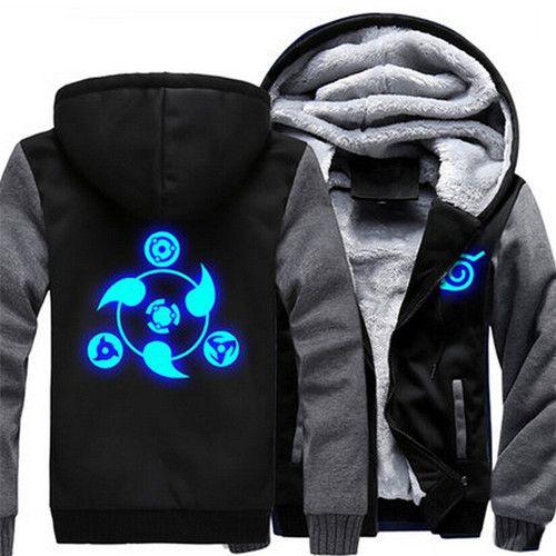 naruto kyuubi chakra mode hoodie