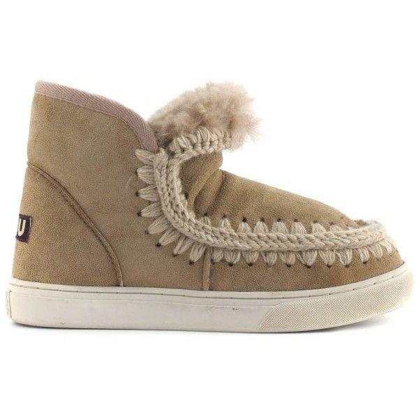 Mou Boots Mini Eskimo Sneaker Camel - MOU