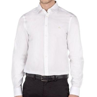 Burberry Brit Smart Work Shirt Button Down Long Sleeved Check Cuffs £64.95