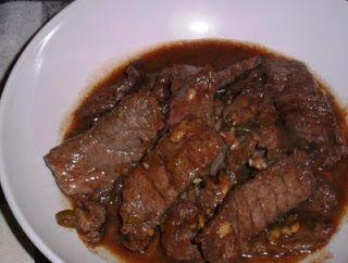 De keuken van Martine: Oosterse biefstukreepjes